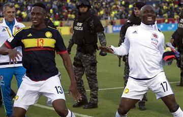 """Selección Colombia: Yerry Mina y Pablo Armero ponen la """"sabrosura"""""""
