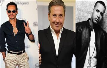 Carlos Vives, Marc Anthony y Daddy Yankee en el Festival de la leyenda Vallenata