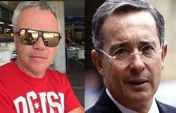 'Popeye' se une a la marcha de Álvaro Uribe Vélez