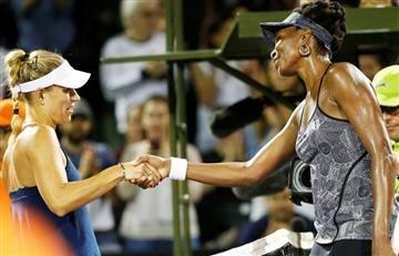 Venus gana a Kerber y Nadal sigue adelante en el Masters de Miami
