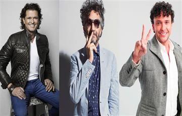 Carlos Vives, Andrés Cepeda y Fito Paéz estarán en la Feria del Libro