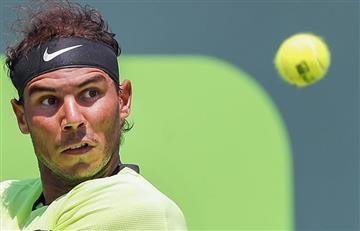 Nadal gana a Fognini y espera Federer en la final del Masters 1000