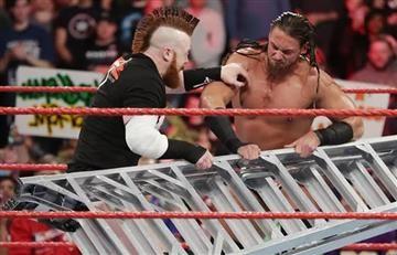 WWE: La impresionante herida que recibió 'Sheamus' en plena lucha