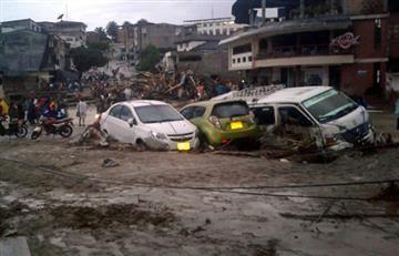 Desbordamiento de tres ríos en Mocoa deja 17 muertos