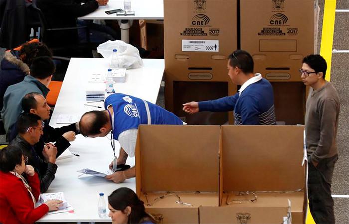 Elecciones ecuatorianas Foto: EFE