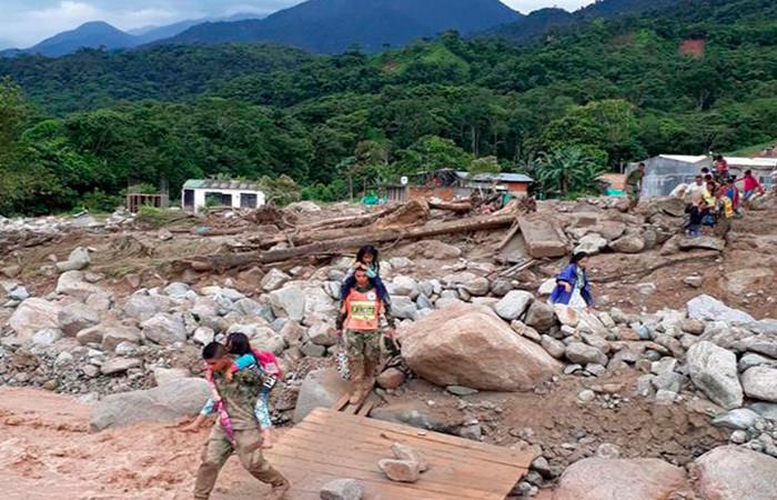 Mocoa: Listado de víctimas identificadas por Medicina Legal