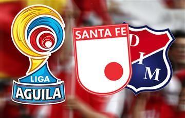 Santa Fe vs. Medellín: Hora y transmisión EN VIVO