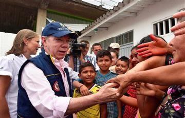 Santos promete reconstruir Mocoa tras balance de la avalancha
