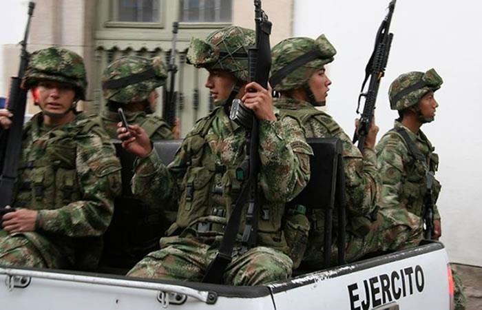 En Bogotá un militar se suicidó luego de dispararle a sus compañeros