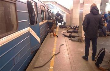 Rusia: Explosión en San Petersburgo deja varios muertos