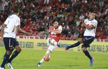 Santa Fe perdió contra el Medellín y comienza a generar dudas