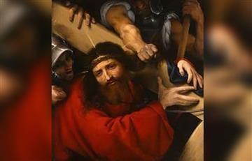 Viacrucis: Estación 7, Jesús cae por segunda vez