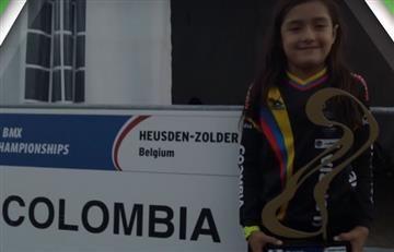 """La colombiana de 8 años que es la """"Héroe del futuro"""", según los Olímpicos"""