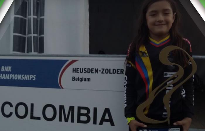 La colombiana de 8 años que es la