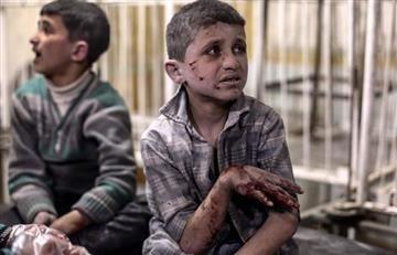 Siria fue blanco de un bombardeo químico