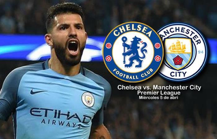Chelsea Vs Manchester City 2017: Chelsea Vs. Manchester City: Transmisión EN VIVO