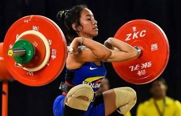 Colombiana Manuela Berrío, ganó tres medallas de plata en Mundial de Pesas
