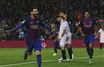 El Barcelona le gana al Sevilla y aprieta al Real Madrid