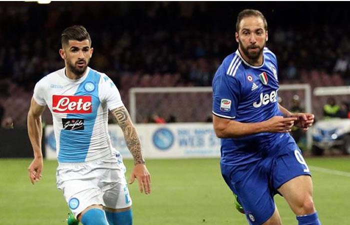 Napoli vs. Juventus: Hora y transmisión EN VIVO
