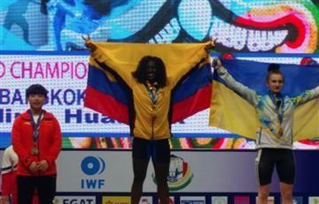 Colombia ganó oro en Campeonato Mundial de Pesas Sub-17