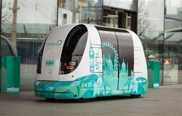 Londres: Este el primer autobús sin conductor que operará en la ciudad