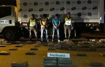 """Mocoa: La policía halló marihuana dentro de """"donaciones"""""""