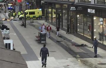 Estocolmo: Detienen primer sospechoso por presunto atentado