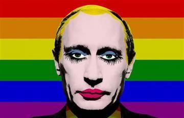 Rusia pohíbe el 'payaso gay' de Vladimir Putin