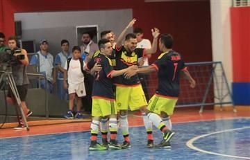 Selección Colombia empató a 3 contra Uruguay en Copa América de Futsal