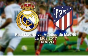 Real Madrid vs. Atlético de Madrid: EN VIVO