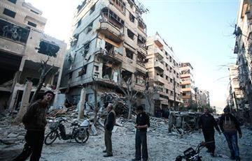 Siria: Al menos 15 muertos tras bombardeo de la coalición