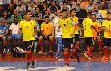 Copa América de Futsal: Colombia y Paraguay empataron 5 - 5.