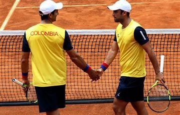 Copa Davis: Colombia va ganando la serie 2 -1 pero se suspende por lluvia