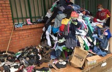Mocoa: Indignación ante donaciones de ropa en mal estado