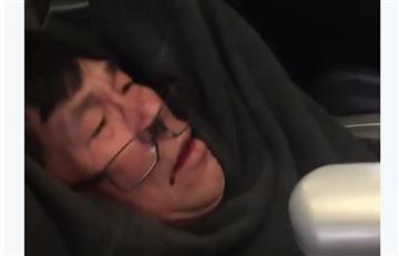 Estados Unidos: United Airlines expulsa a un pasajero de manera violenta
