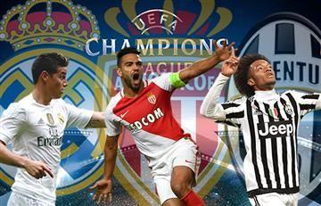 Champions League: Así llegan James, Falcao y Cuadrado