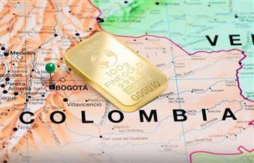 Colombia elige el oro para impulsar su economía