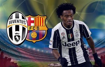 Juan Guillermo Cuadrado titular con Juventus