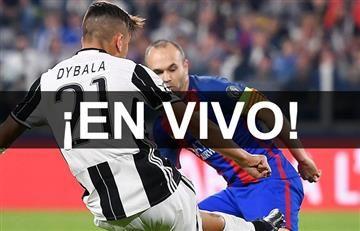Juventus vs. Barcelona: Transmisión EN VIVO