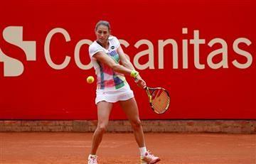 Mariana Duque eliminada en primera ronda del WTA Claro Colsanitas