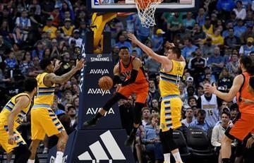 Westbrook logra una marca histórica en la NBA