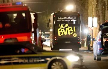 La carta que encontró la Policía en el lugar del ataque contra el autobús del Borussia