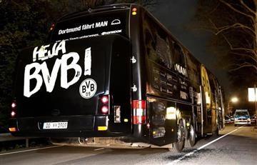 Por ataque 'terrorista' contra el bus del Borussia Dortmund detienen a un islamista