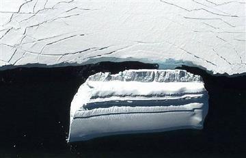 Descubren 'nave alienígena' en la Antártida