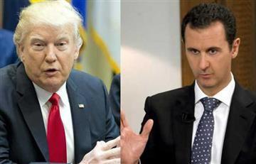 """Donald Trump: El presidente sirio Bachar Al Asad es un """"carnicero"""""""
