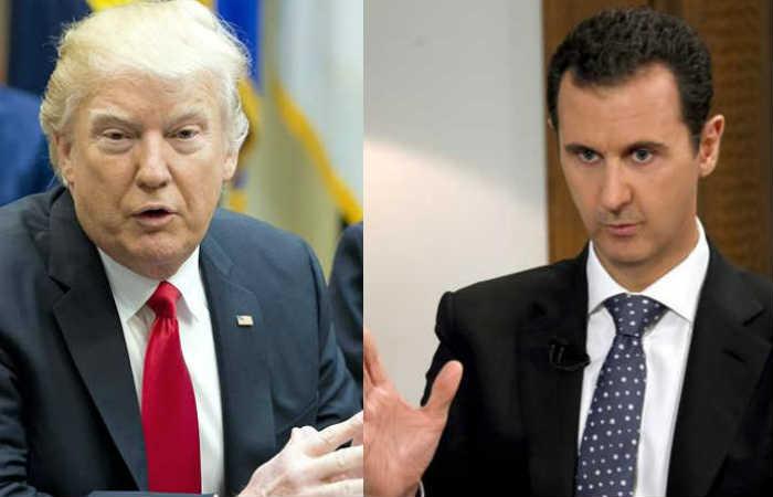 Donald Trump: El presidente sirio Bachar Al Asad es un