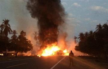 En México 24 personas murieron en un grave accidente