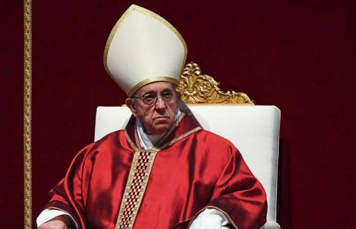 El papa Francisco siente 'vergüenza' por la destrucción del mundo