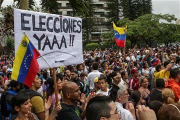 Protestas en Venezuela dejan seis muertos