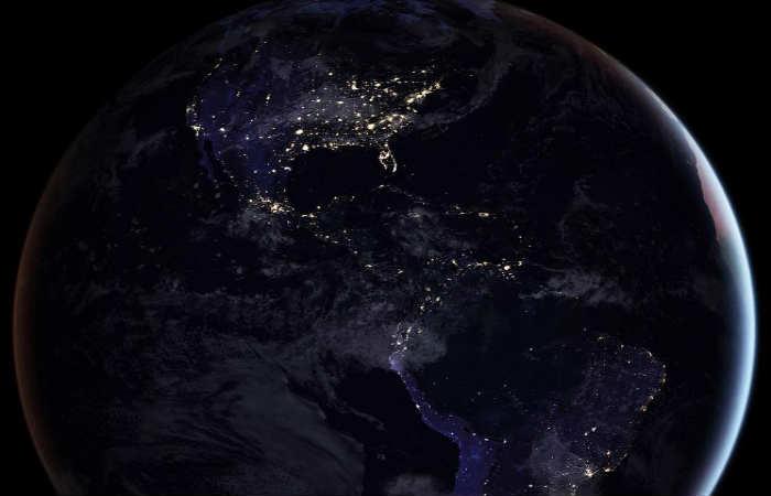 NASA: Impactantes imágenes del planeta tierra de noche